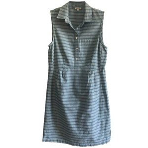 Steven alan blue stripe dress